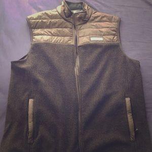 Men's Large Vineyard Vines Vest — Black